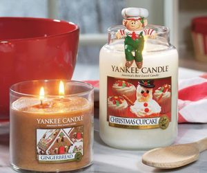 candle, christmas, and winter image