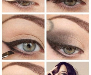 eyeliner, smokey, and victoria secrets image