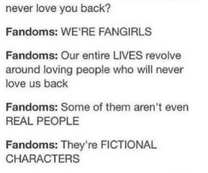 fandom, fangirls, and fangirl image
