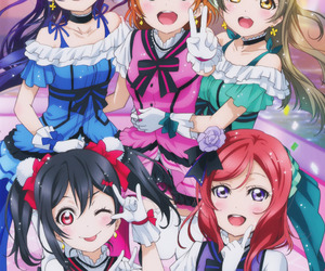 anime, girl, and love live image