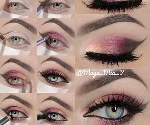 eyeliner, Hot, and smokey image