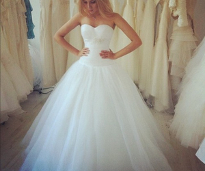 air, married, and weddingdress image