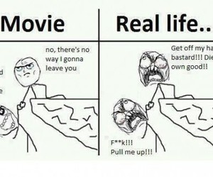 funny, real life, and movie image