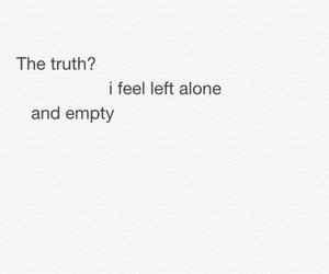 alone, empty, and sad image
