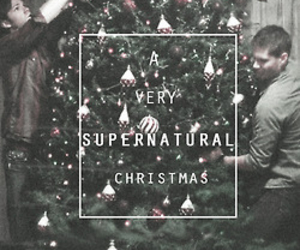 christmas, supernatural, and dean image