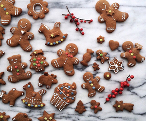 gingerbread, Cookies, and winter image