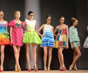 dress, model, and fashion image