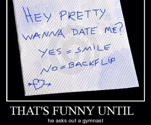 ask, backflip, and date image