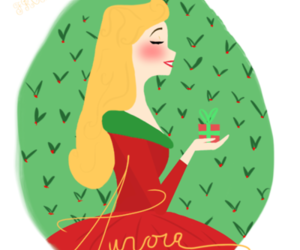 aurora, christmas, and disney image