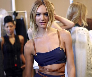 blond, Victoria's Secret, and candice swanepoel image