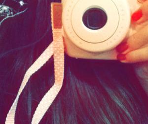 camera, photo, and pink image