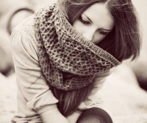 girl and scarf image
