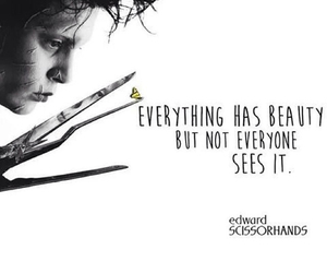 edward scissorhands, great movie, and quote image