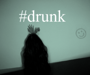drunk, edit, and girl image