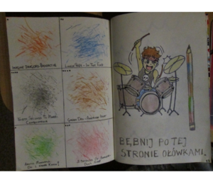 ashton, drums, and wreck this journal image