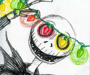 christmas and jack skellington image