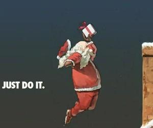 nike, christmas, and Just Do It image