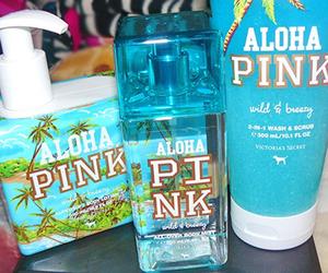pink, Victoria's Secret, and Aloha image