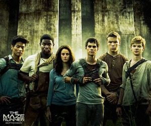 the maze runner, thomas, and maze runner image