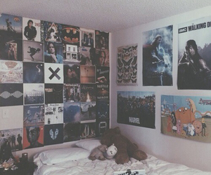 room, grunge, and bedroom image