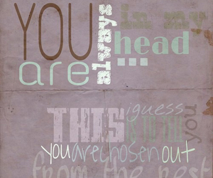coldplay, Lyrics, and always in my head image