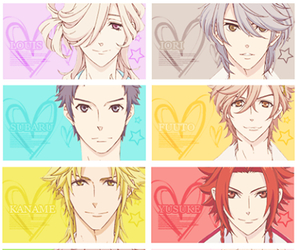 anime, brothers conflict, and manga image