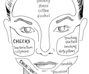 beauty, acne, and woman image