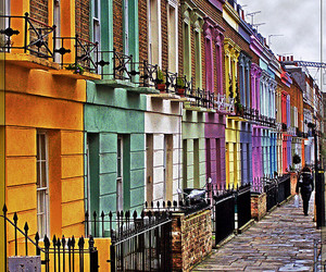 colors, travel, and uk image