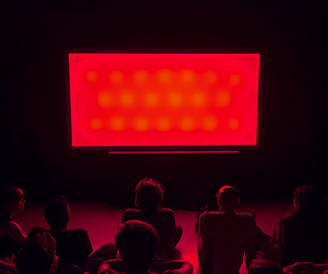 cinema, glow, and grunge image