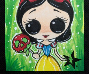 disney, snow white, and sugar fueled art image