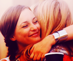 best friends, serena and blair, and girls image