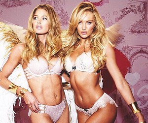 candice swanepoel, Doutzen Kroes, and angel image