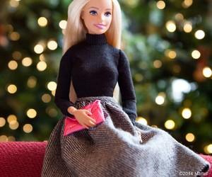 barbie and christmas image