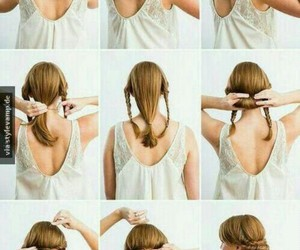 blond, braid, and cool image