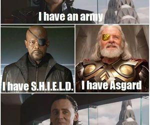 loki, funny, and Marvel image
