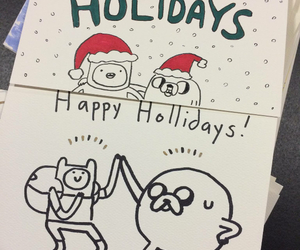 christmas, tv shows, and adventure time image