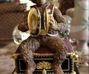 animal, monkey, and music image