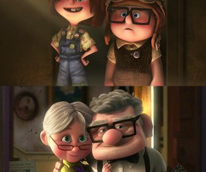 love, up, and movie image
