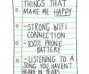 happy, song, and wifi image