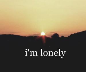 lonely, summer, and sun image