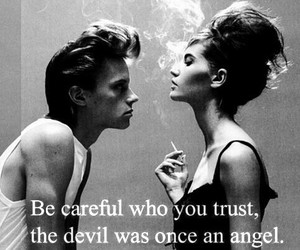 angels, Devil, and quote image