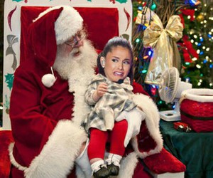 ariana grande, funny, and christmas image