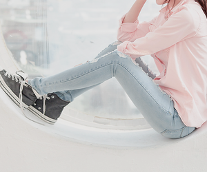converse, korean fashion, and ulzzang image