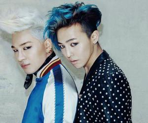 bigbang, g-dragon, and taeyang image