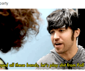 fall out boy, FOB, and me image