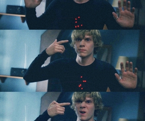 tate, cool, and evan peters image