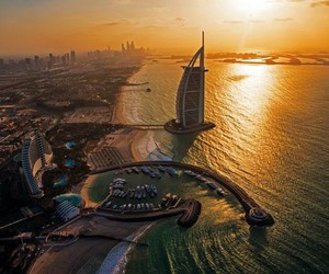 cities, Dubai, and luxury image