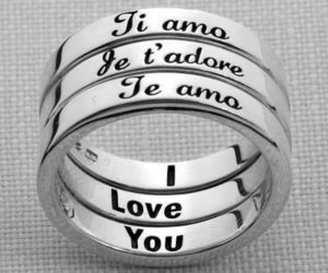 love, I Love You, and ring image