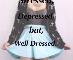 depressed, outfits, and well dressed image