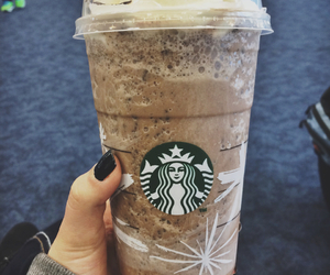 airport, blue, and coffee image